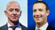 Amazon's Bezos, Facebook's Zuckerberg are real winners of post-election market rally