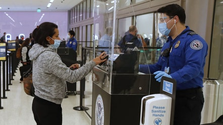 US air travel spikes to highest level since March