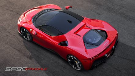 Ferrari isn't racing toward electric cars, but they'll be loud when it gets there
