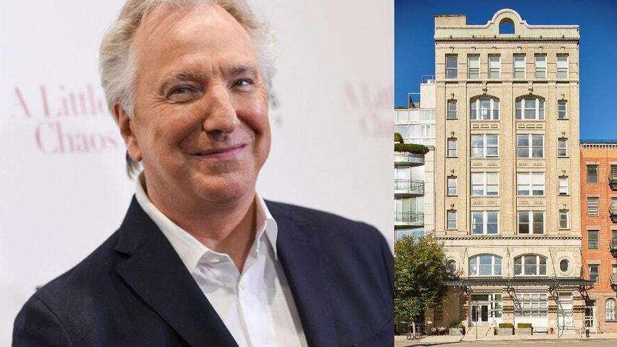 Alan Rickman estate lists his former NYC condo for sale