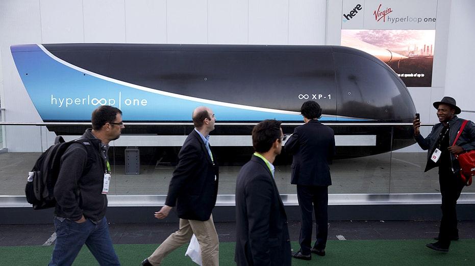 Hyperloop journey