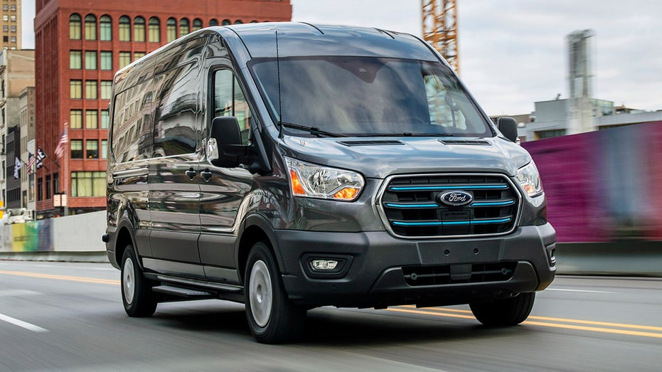 Ford E-Transit electric van debuts with 126-mile range