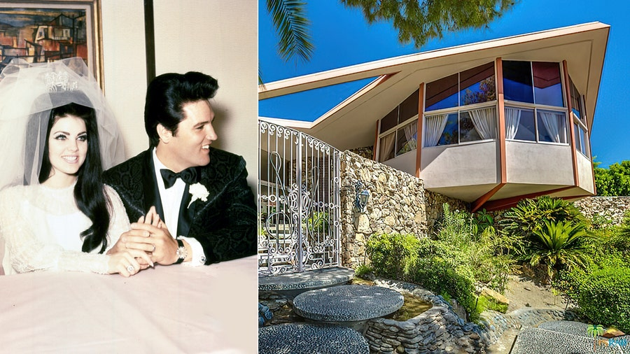 Elvis Presley's honeymoon house listed for $2.5M in Palm Springs