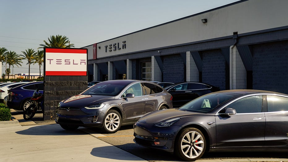 Tesla's shares have rallied more than sevenfold during the past year. (Kent Nishimura / Los Angeles Times via Getty Images)