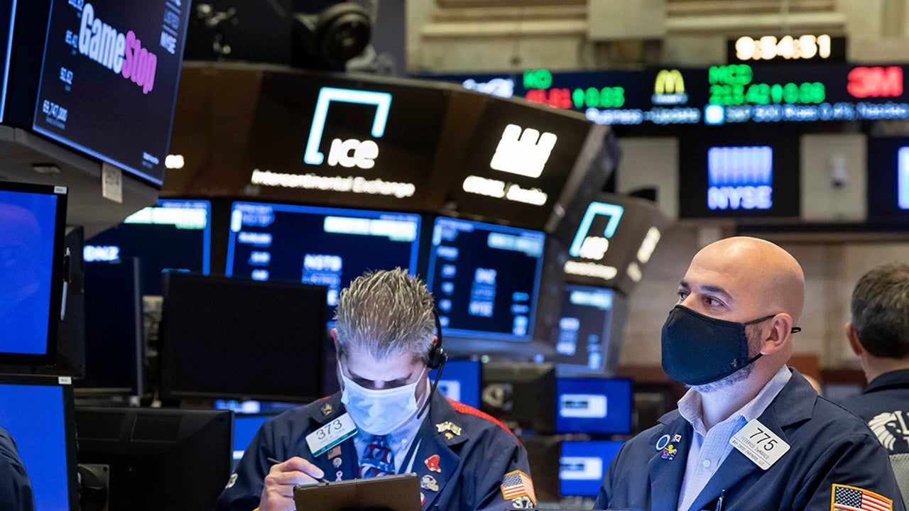 Stocks lower as inflation worries higher gas prices drag down markets – Fox Business