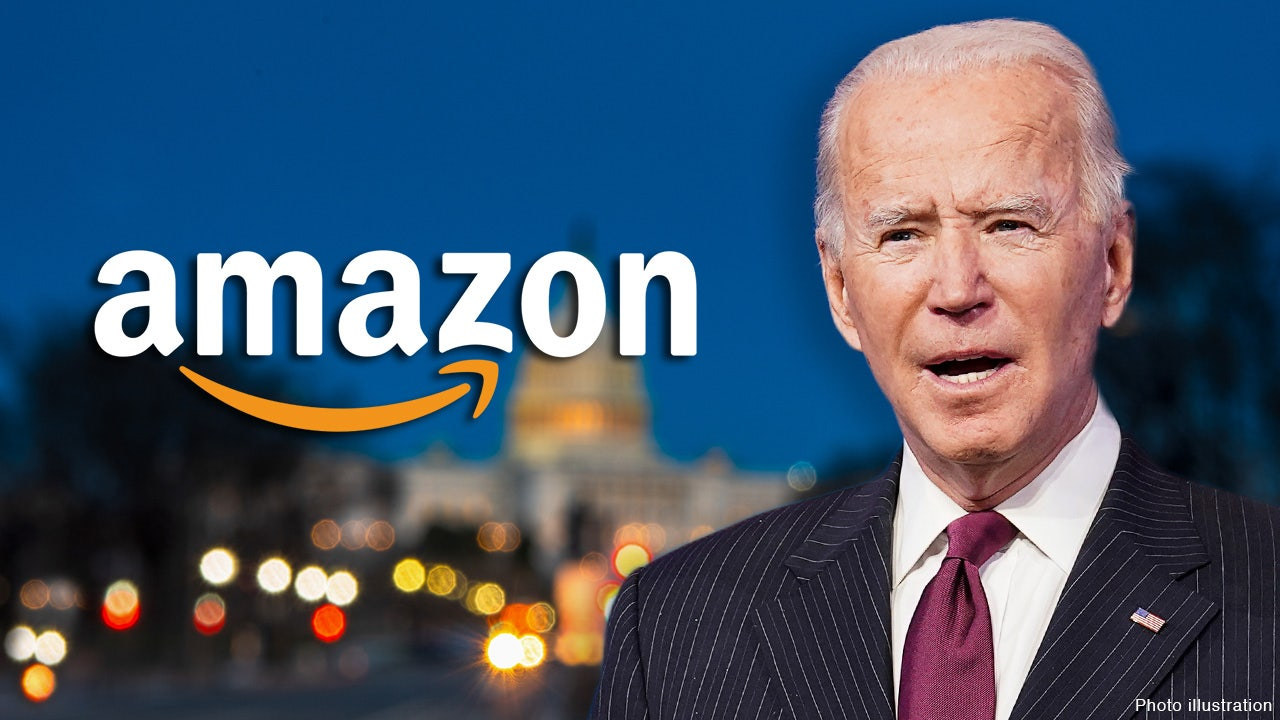 Amazon employees gave millions to Biden, strongly outweighing...