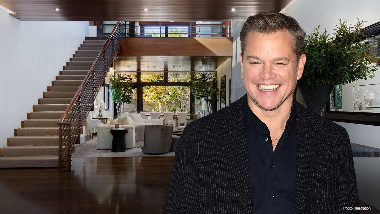 Matt Damon looks to sell California home for $21 million -