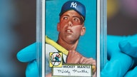 Rare Mickey Mantle baseball card sells for more than $5 million, setting record