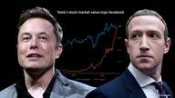 Tesla drives past Facebook with $800 billion market value