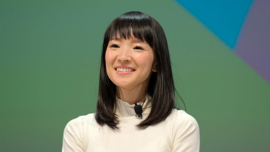 Founder of KonMari Media, Inc. Marie Kondo speaks on stage during the BlueCurrent session at the Cannes Lions 2019 : Day One on June 17, 2019 in Cannes, France.
