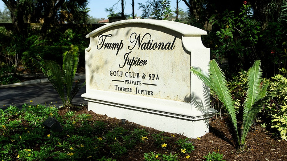 Trump National Golf Club Jupiter/Photo by Brendan Smialowski/AFP via Getty Images) (Getty Images)
