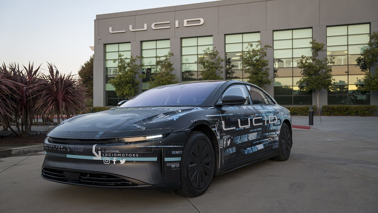 Lucid Motors stock pops in debut, CEO's goal is affordable electric vehicles