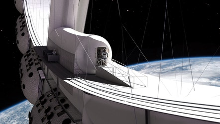 Orbital Assembly Corp. hits $1M fundraising goal, aims to have luxury space hotel open in 2027