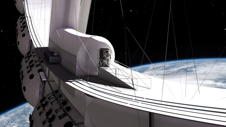 - 20 1223 Voyager Station Air Lock - Orbital Assembly Corp. hits $1M fundraising goal, aims to have luxury space hotel open in 2027