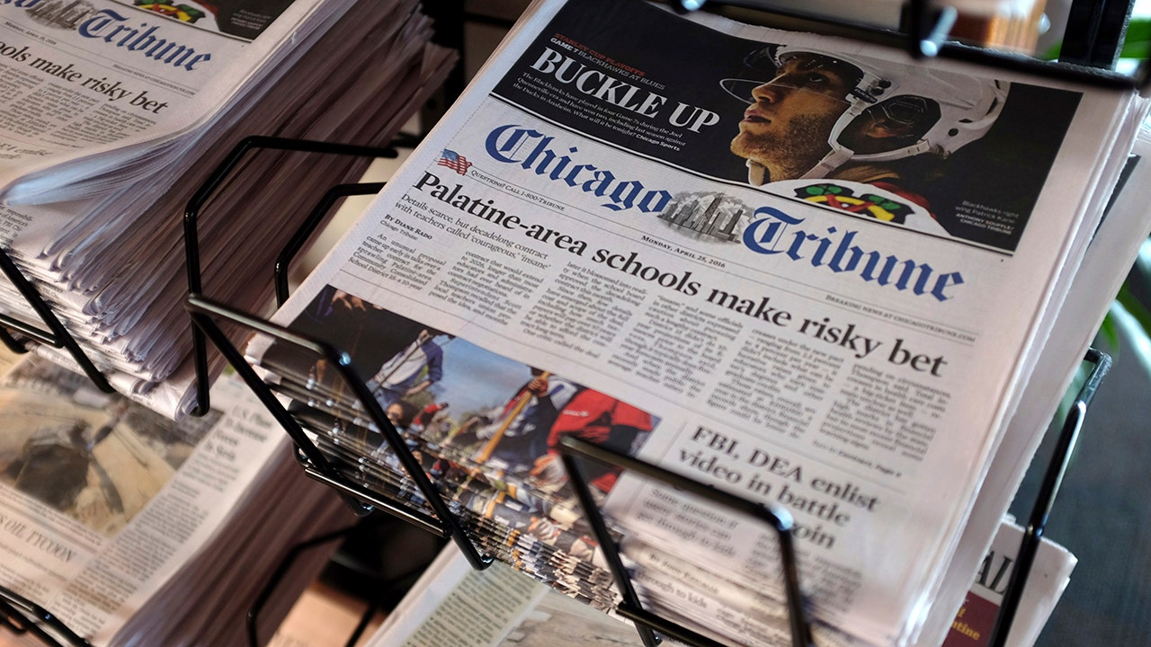 Hotel Magnate seeks help to save Tribune Publishing bid after partner left