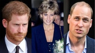 How much did Princess Diana leave behind for Prince Harry and Prince William?