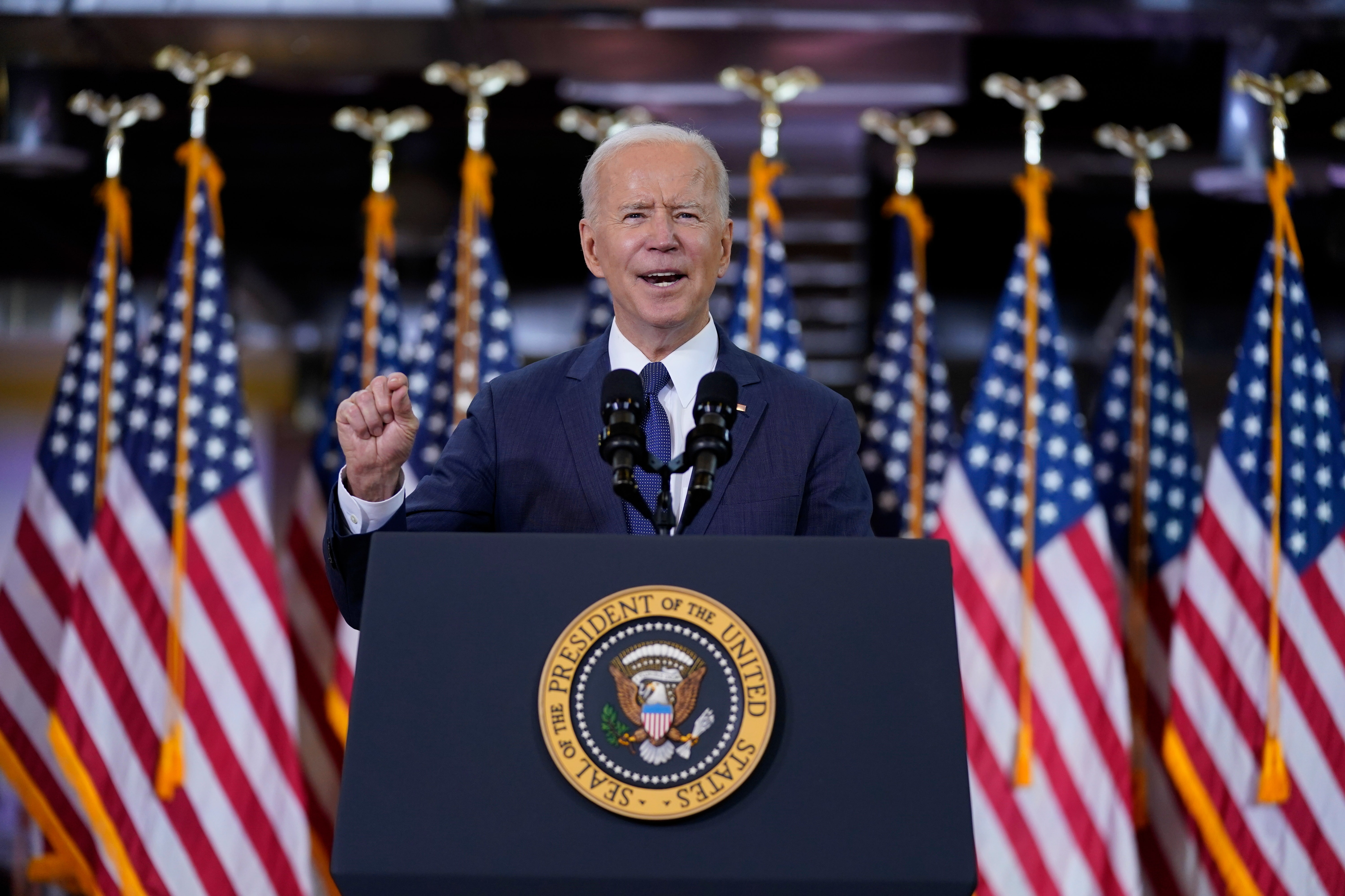 GOP reps ask Biden to halt stimulus provision banning money for tax cuts