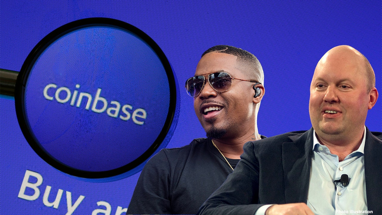 Coinbase backers include Marc Andreessen, Rapper Nas