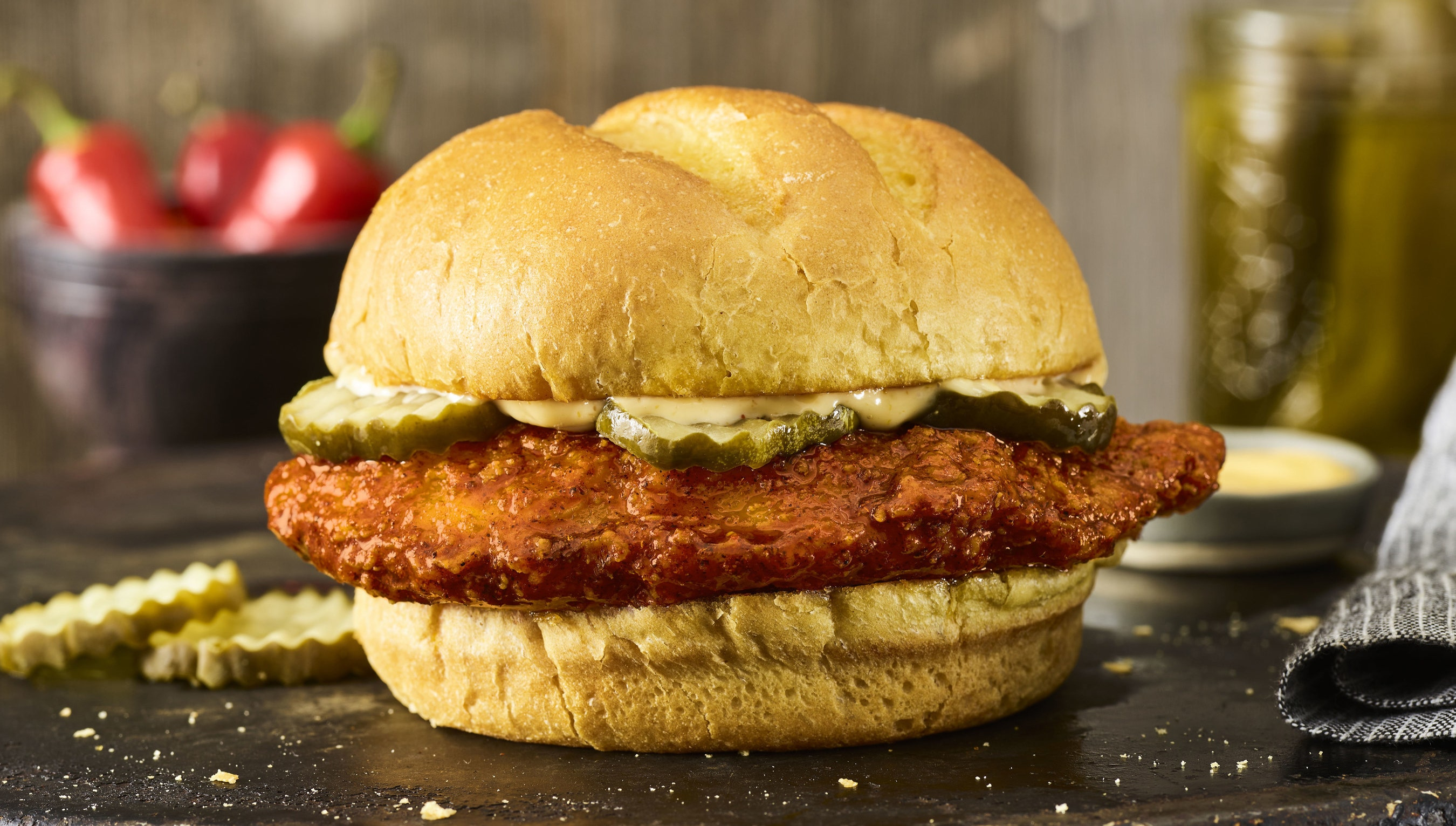 Smashburger joins chicken sandwich wars with limited time spicy offering