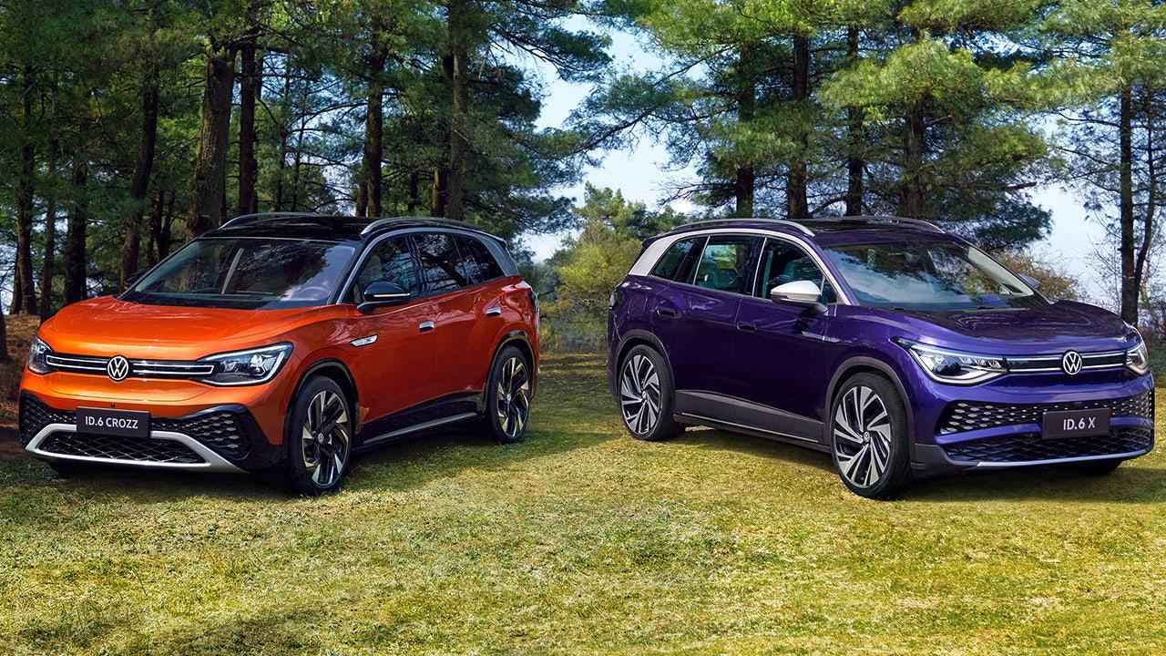 Volkswagen's ID.6 electric SUV makes big splash in China