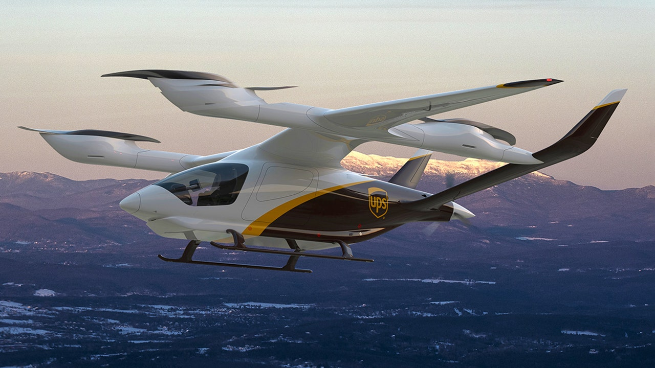 UPS to buy electric aircraft to boost package delivery speed in small,... image