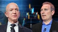 Amazon stock nabs record after Bezos-Jassy handoff