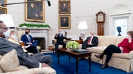 Lawmakers float smaller corporate tax hike during White House meeting with Biden