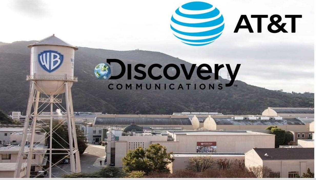 AT&T, Discovery eye combining networks, studio and streaming