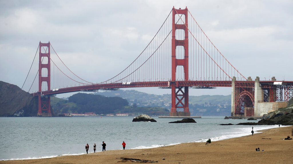 Team of engineers working to make the Golden Gate Bridge 'humming' stop