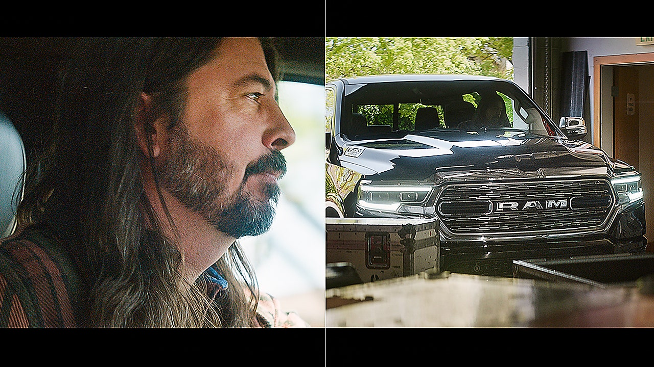 Foo Fighter's Dave Grohl starring in inspirational Ram pickup commercial