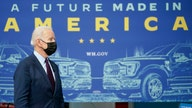 Biden pitches $174B electric vehicle plan as he warns US losing race with China
