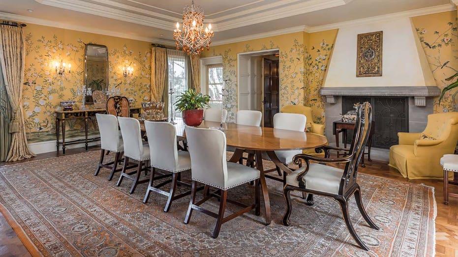 Erika Jayne's dining room