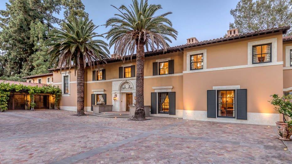 Erika Jayne's Pasadena home
