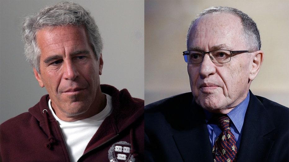 Jeffrey Epstein and Alan Dershowitz