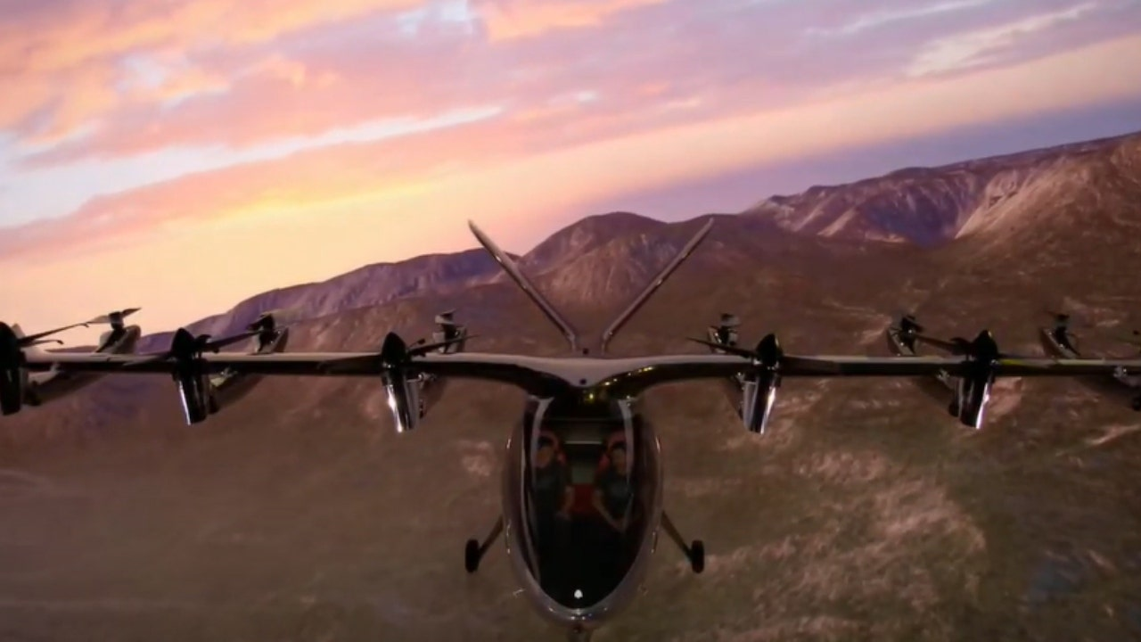 Archer Aviation unveils electric air taxi for launch in 2024