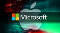 Microsoft joins Apple in $2T market value club