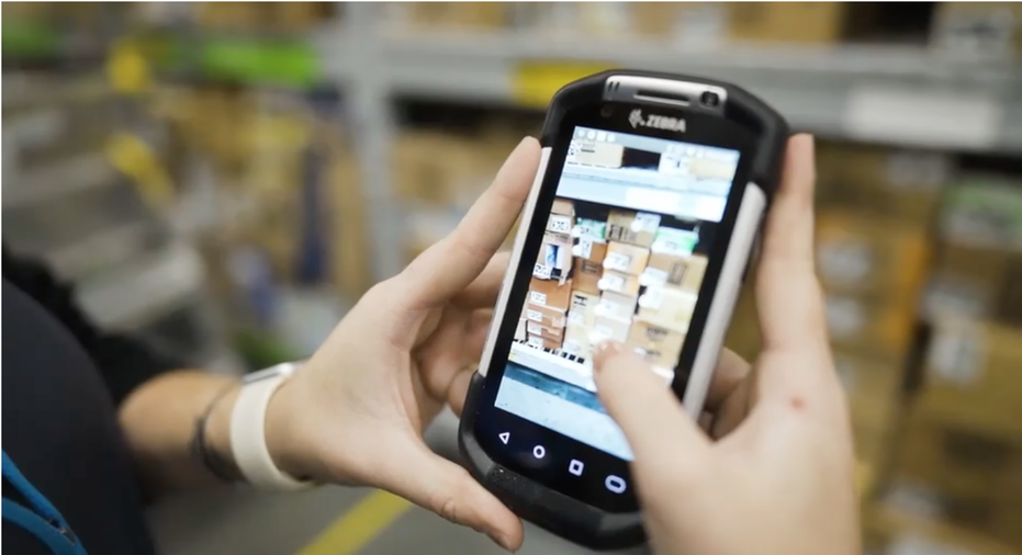 Since piloting the scanning feature last year, Walmart says the new capability has taken a third of the time compared to the previous manual process. (Photo courtesy of Walmart)