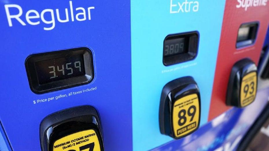 High gas pump price