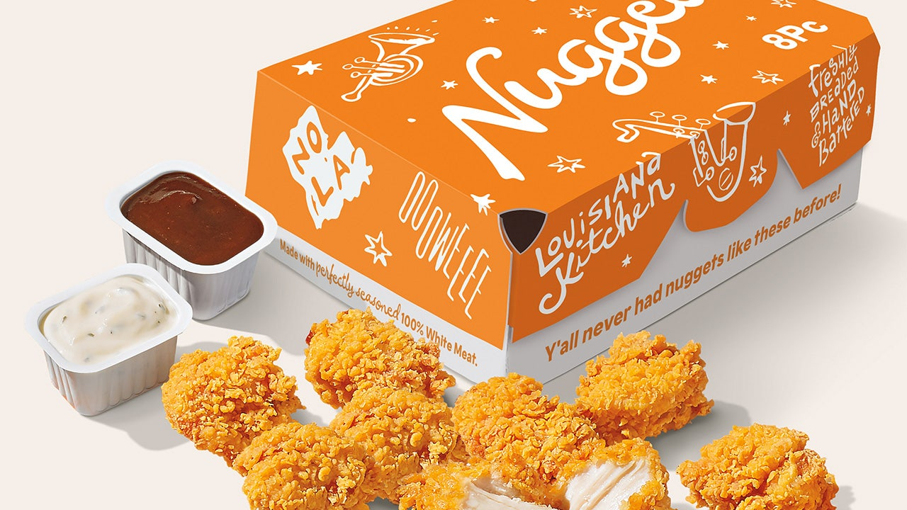 Popeyes debuts highly anticipated nuggets with unique marketing