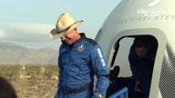 Jeff Bezos' cowboy hat at Blue Origin space flight lights up the internet