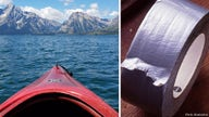 YouTuber Zachary Fowler sets sail on kayak made of duct tape