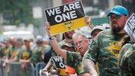 Hundreds of Alabama coal miners protest outside BlackRock's NYC headquarters