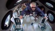 Virgin Galactic's Richard Branson and crew in space: PHOTOS