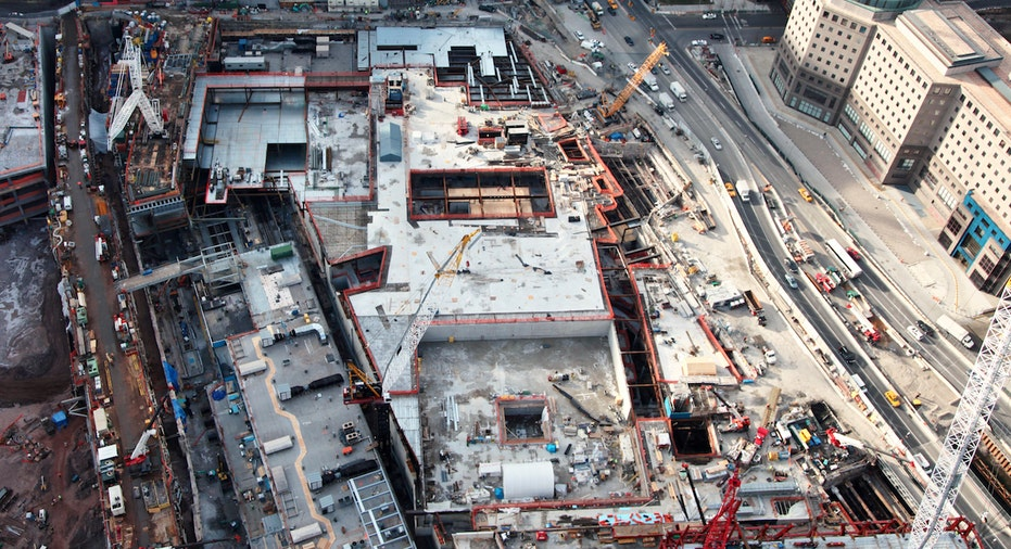World Trade Center ground zero after 9/11 attacks