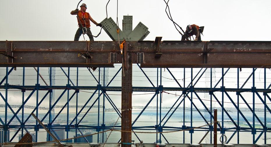 World Trade Center rebuilding underway