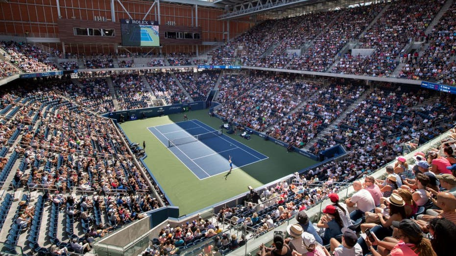 Louis Armstrong Stadium packed with fans during the U.S. Open