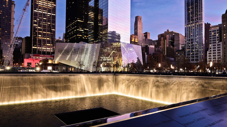The 9/11 National Memorial in NYC