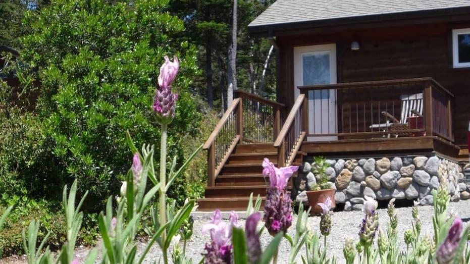 Airbnb rental home in California
