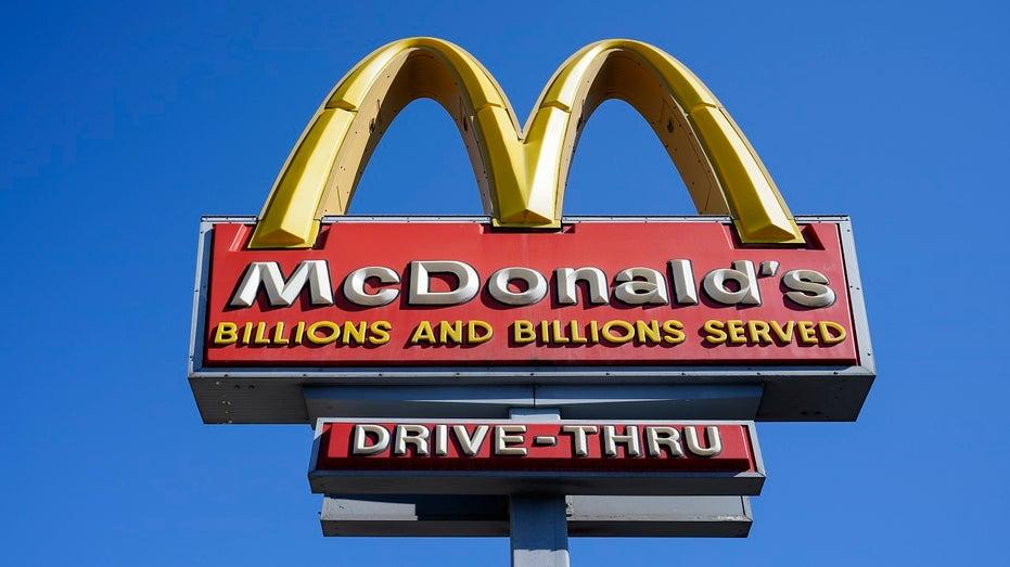 McDonald's sign in Philadelphia