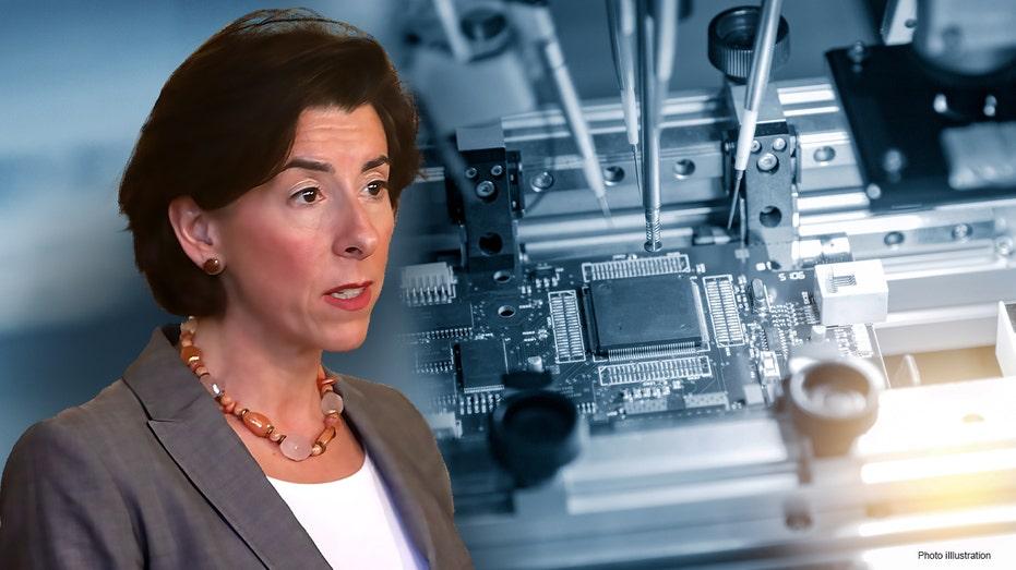 Gina Raimondo semiconductor